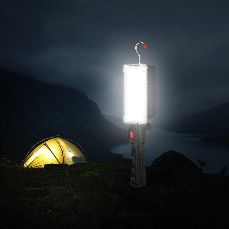 carregamento de iluminação de emergência por 2*18650