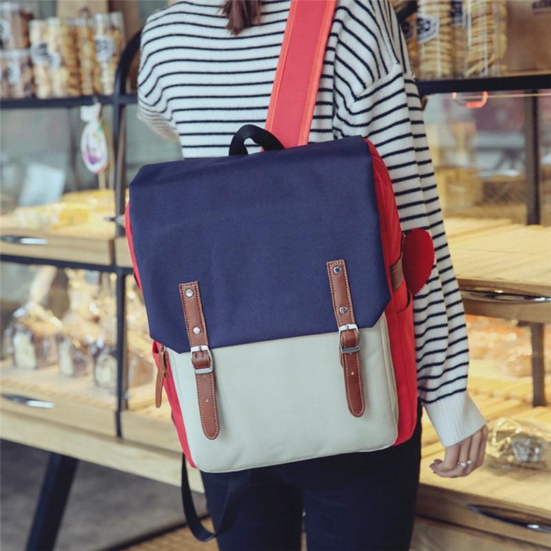 Women s Backpacks Ladies Shoulder Bag Travel Backpack Mochila Escolar Designer Youth Teenage Girls Black School