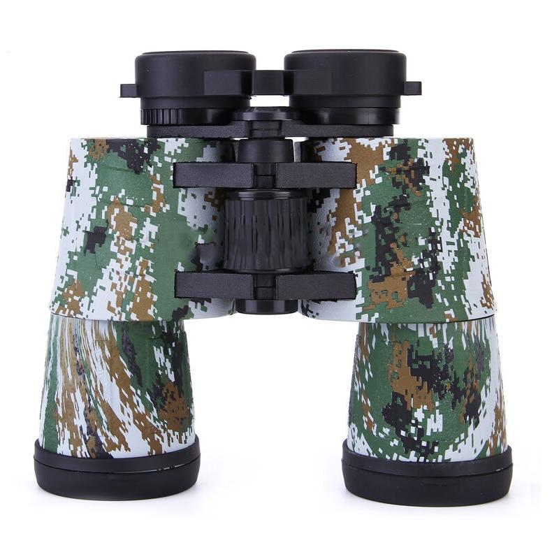 10x50 High-power Hunting Telescope Military Waterproof BAK4 Fully Coated Binoculars Digital Camouflage military waterproof binoculars boshile 10x50 navy telescope binocular with rangefinder and compass fully multi coated lens bak4