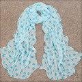 Зимы женщин шарфы 2015 Новый стиль тонкий шифона шелковые жоржетта мягкая Handfeel шали шарфы для женщин WJ-133