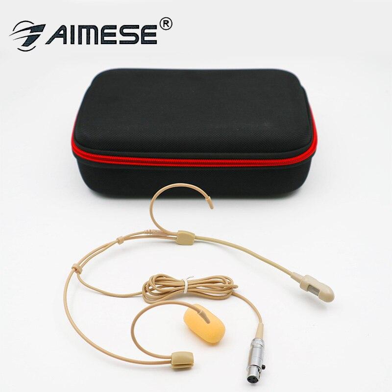 Micro à condensateur pour micro micro micro directivité Pro Super cardioïde pour connecteur de discours sans fil entretien Mipro Mini XLR 4PIN Lock