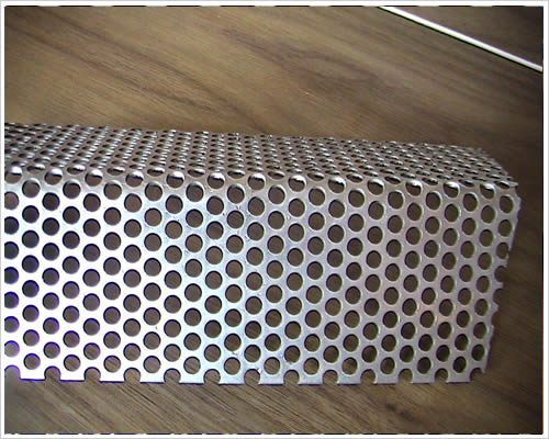 0.8mm Round Hol Punching Mesh Titanium Sheet Punching Filter Mesh Hotting Sales 500mm*1000mm