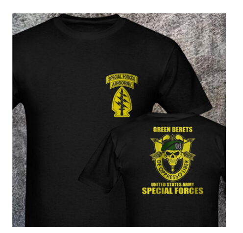 Sas Sbs Forsvarets  Gsg 9 Bope Sniper Green Beret Gign Raid Bri Jtf2 Fsk Mjk Jgsdf Army Special Forces Men's T Shirts