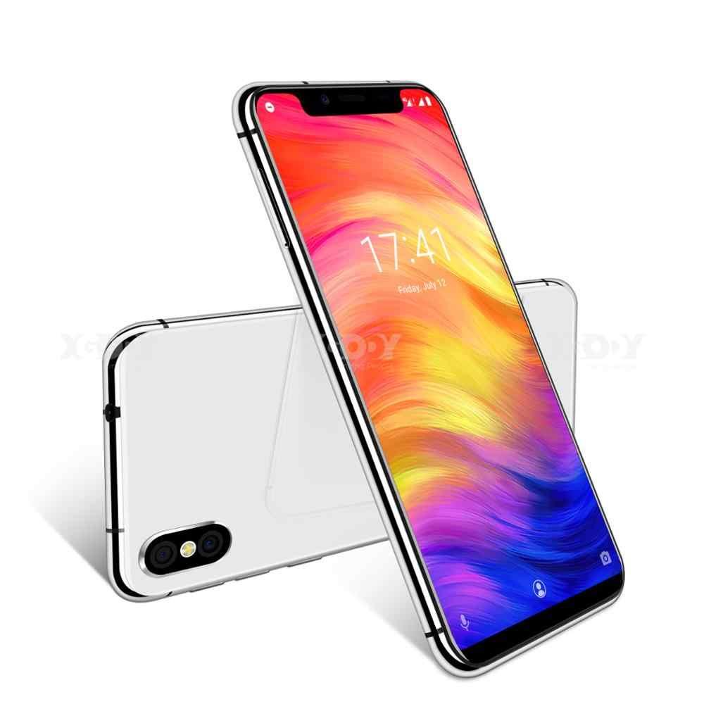 XGODY المزدوج 4G سيم الهاتف الذكي فلوو N ID الوجه 5.7 بوصة 19:9 الشق شاشة الروبوت 8.1 الهاتف المحمول 3GB + 32GB رباعية النواة 8MP كاميرا