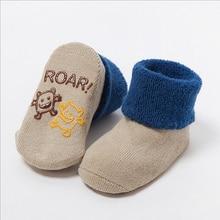baby socks 3-24months thick terry cotton baby socks cartoon anti-skid socks CS.23 newborn clothing