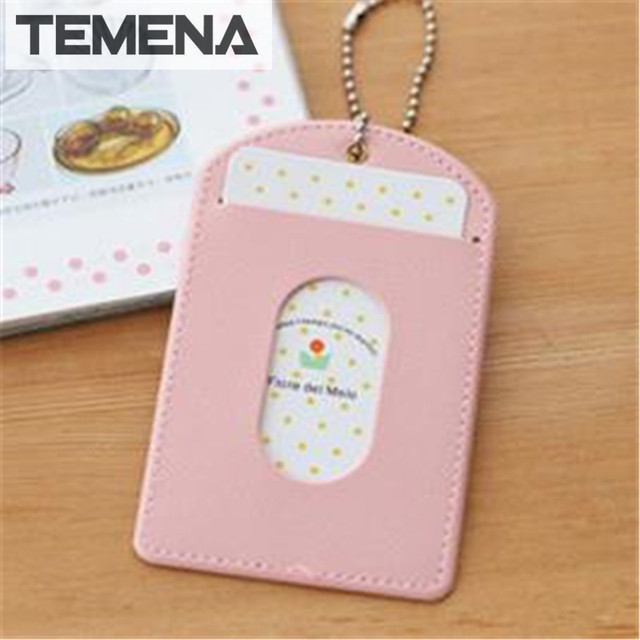 Temena Simple ID holder sets card package Wallet door clip card holder Credit Card of porte & Temena Simple ID holder sets card package Wallet door clip card ...