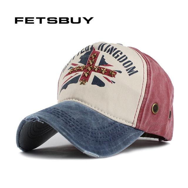 969a59367df77 FETSBUY gros casquette de baseball rivet snapback chapeau printemps coton  cap hip hop capuchon monté pas