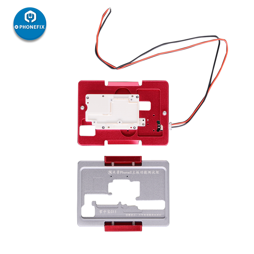MJ C13 C11 iSocket jig Double Layers Logic Board Test Fixture For IPhone X XS MAX motherboard BGA Soldering disassemble Repai - 4