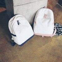 Dower Me новый нейлон сплошной цвет японский стиль популярные женские рюкзак