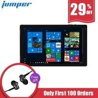 Джемпер EZpad 7 Tablet 2 в 1 Tablet PC 10,1 ''Windows 10 четырехъядерный процессор Intel Cherry Trail z8350 1,44 ГГц 4 ГБ Оперативная память 64 ГБ eMMC Встроенная память