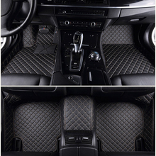 Customized car floor mats for Kia Sorento Sportage Optima K5 Forte K3 perfect fit carpet foot case car-styling rugs liners floor mats for kia sportage 2006 2010 rugs non slip polyurethane dirt protection interior car styling accessories