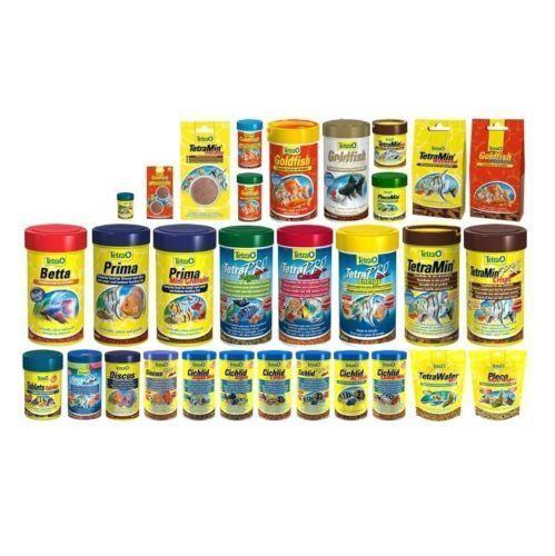 Tetra Flakes Fish Food List