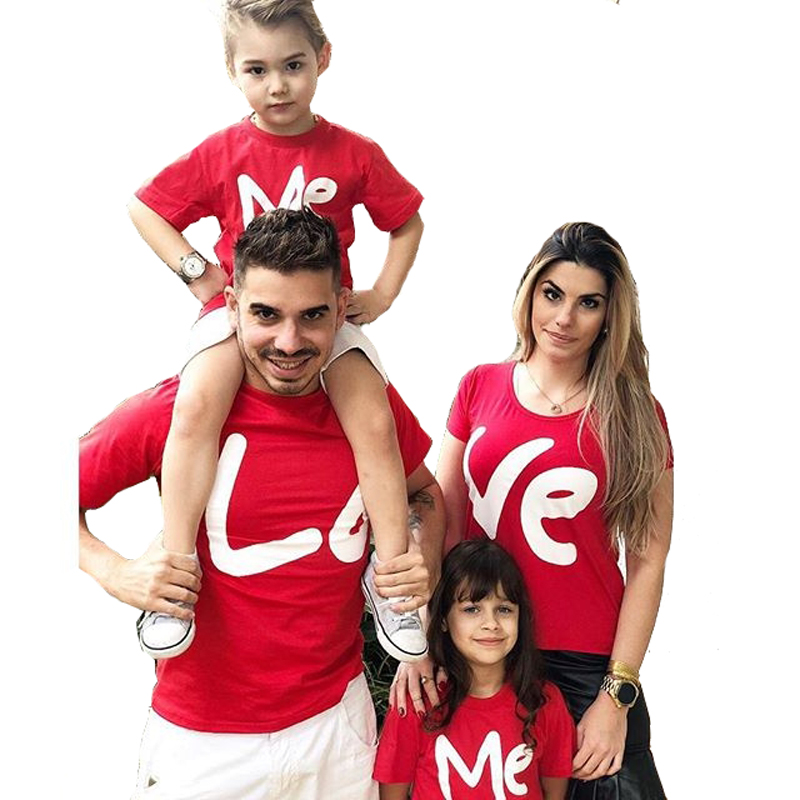Love Me Mother Son Outfits Mom and Daughter Clothes Matching Family Look T shirts Mommy and Me Summer Family Matching Clothes Love Me Mother Son Outfits Mom and Daughter Clothes Matching Family Look T shirts Mommy and Me Summer Family Matching Clothes