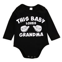 Toddler Infant Newborn Kids Baby Boys Girls Long Sleeve Spring Autum Jumpsuit Bodysuit Casual Clothes Outfit