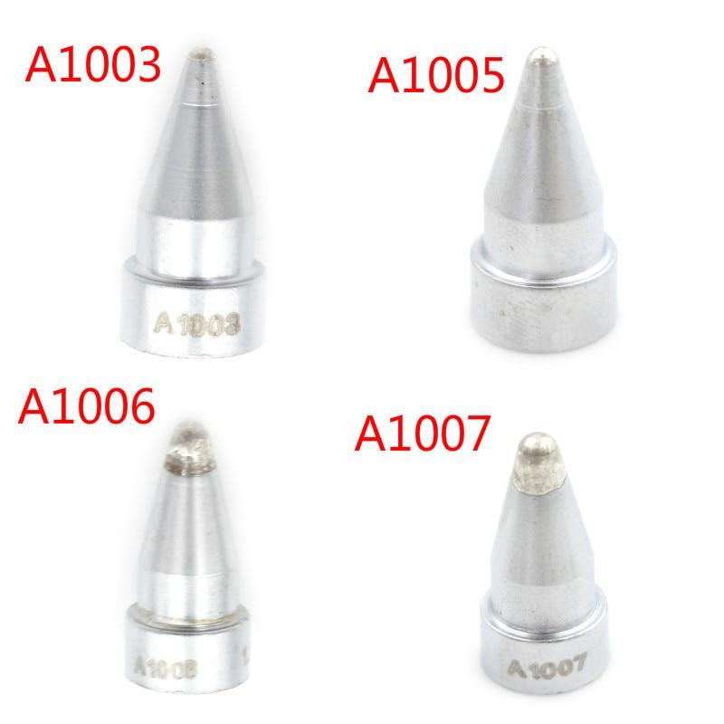A1007 Replace Desoldering Gun Leader-Free Solder Tip for 802 808 809 807 817.\