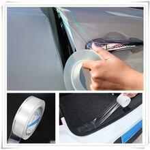 Автомобильный двойной siede стикер порога защитная лента Авто полоса для Honda Everus ясность Civic Accord Urban FCX Brio 3R-C