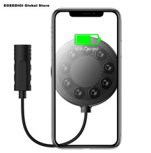 Egeedigi Suction Cup Qi Wireless Charger For iPhone Xs Max Xr X 8 Plus 10W Fast Wirless Charging Samsung S9 S8 S7