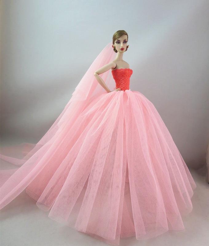 粉色网纱裙