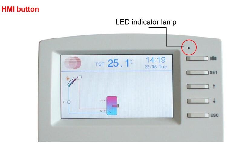SR1568 Solarwasserheizung Controller Mit 7 Sensoren, Internetzugang  Datenspeicherung Thermostat Funktion RPM Drehzahlregelung In SR1568  Solarwasserheizung ...