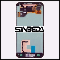 Sinbeda Super Amoled LCD Display Touch Screen Digitizer Assembly Replacement For Samsung Galaxy S5 I9600 G900F