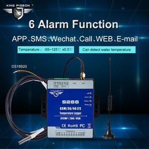 Image 4 - GSM 3G 4G LTE Cellular RTU telemetría registrador de datos de temperatura alerta de monitoreo de temperatura de 8 canales a través de SMS/Call/GPRS S266