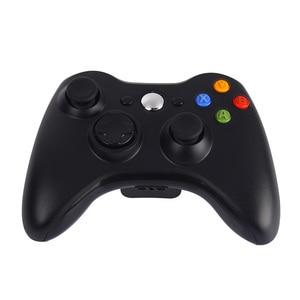 Image 2 - kebidu Premium Quality Fine Black 2.4GHz Wireless Gamepad Joypad Controller Game Joystick Pad for Xbox 360 Game