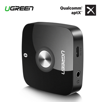 Ugreen Wireless Bluetooth Receiver 4.2 3.5mm jack aptx Aux 3.5 Music Receiver Bluetooth HiFi Audio Adapter Car Blutooth Receptor
