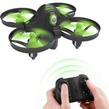 Quadcopter RC ミニドローン保護リングリモコンドローンナノドローン高度ホールドヘッドレスモード初心者のための子供のための