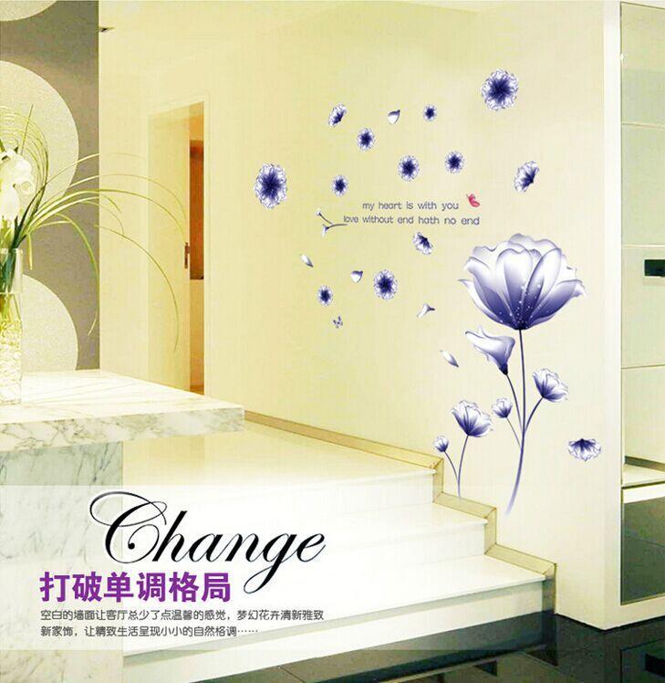 Contemporary Hibiscus Wall Decor Composition - Art & Wall Decor ...
