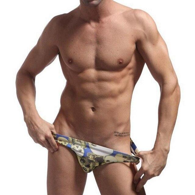 cbaf8efe1db64 Brave Person Bademode Männer Marke Sexy Schwimmenschriftsätze Mens Badehose  Badeanzug Sunga Badehosen Herren