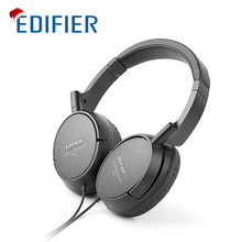 Edifier H840 Headphones Noise Cancelling Stereo Monitor HIFI Headset Ergonomic Ear Pads Headphone 3.5mm AUX for Phones Tablet PC