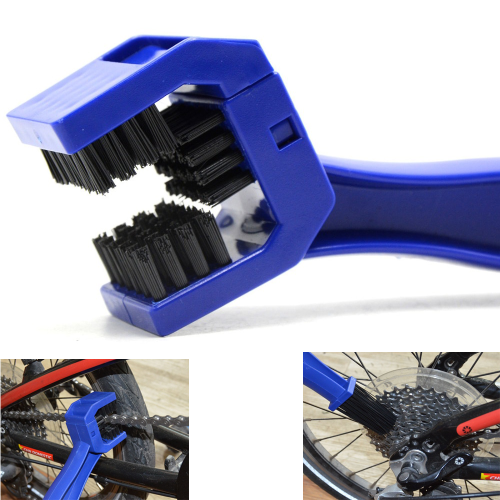 For KAWASAKI ZX9R ZX10R ZX12R ZX14R Z650 Z800 YAMAHA MT01 MT03 YZF R1 R6 Motorcycle Bicycle Chain Clean Brush Gear Grunge Brush