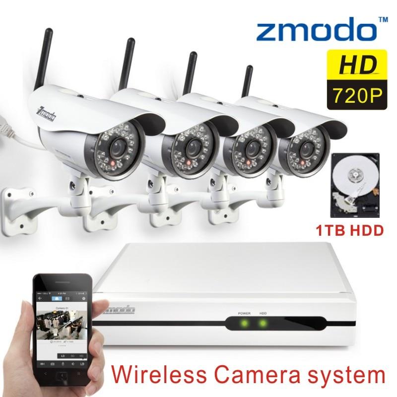 Wireless Security Camera System 1tb