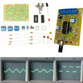 Free Shipping ICL8038 Function Signal Generator Module Sine Square Triangle Wave Output DIY parts KIT 12V DC INPUT