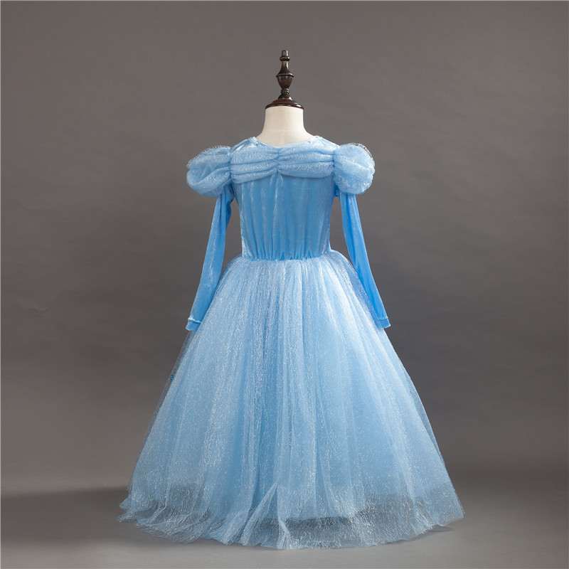 HTB11jEfvyQnBKNjSZFmq6AApVXac 2019 Children Girl Snow White Dress for Girls Prom Princess Dress Kids Baby Gifts Intant Party Clothes Fancy Teenager Clothing