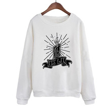 Flame Candle Hocus Pocus Pullover Witch Black Magic Hoodies Its Lit Crewneck Sweatshirt Women