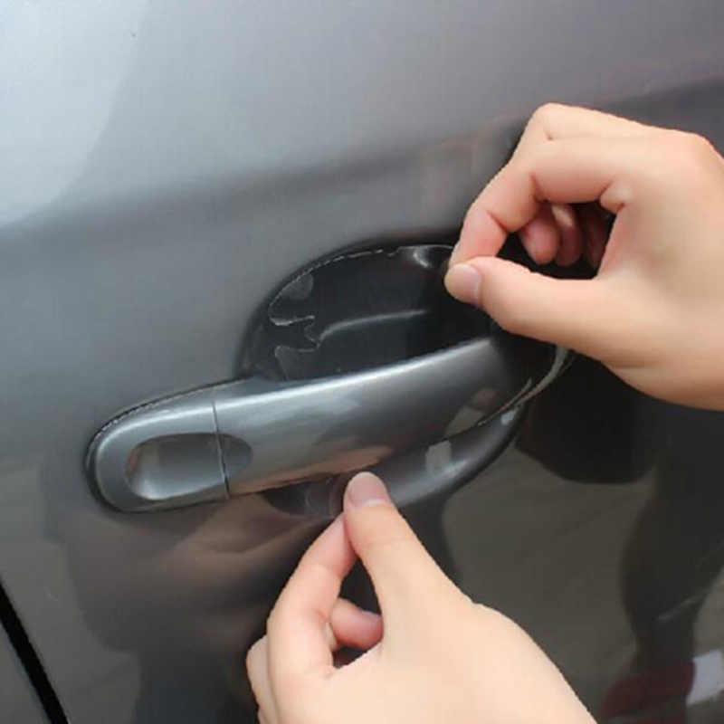 4 pz adesivi Per Auto Auto Porta Maniglia Graffi Protector Film per Suzuki SWIFT Alto Liane Grand Vitara Jimny SX4 S -Cross