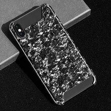 Cao cấp Giả Tổng Hợp Sợi Carbon Điện Thoại Di Động Dành Cho iPhone X XS Bao Da Phong Cách Thời Trang Mới Lạ Cho Iphone XR XS MAX Ốp Lưng