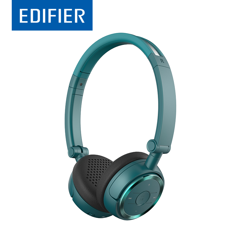 EDIFIER W675BT HIFI Bluetooth Headphones On-Ear Automatic Noise Reduction Bluetooth 4.1 Headset With Microphone NFC Dual Model