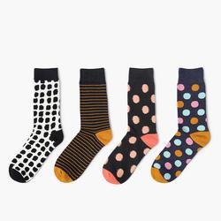 2017 Весна новые хлопковые носки горячие точки разноцветные мужские носки женские lover носок Размер 36-43
