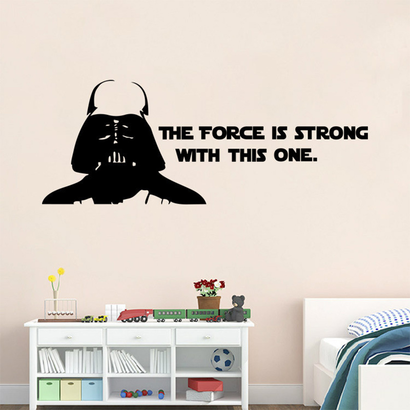 Star Wars Wall Decals The Force Is