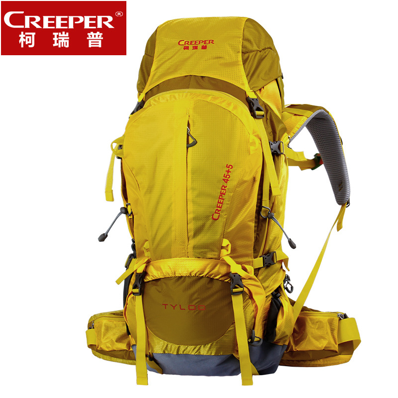 50L    Outdoor Bag Travel Backpack Mountaineering Bag Backpack Professional Wear-resistance   A5187 75l external frame support outdoor backpack mountaineering bag backpack men and women travel backpack a4809