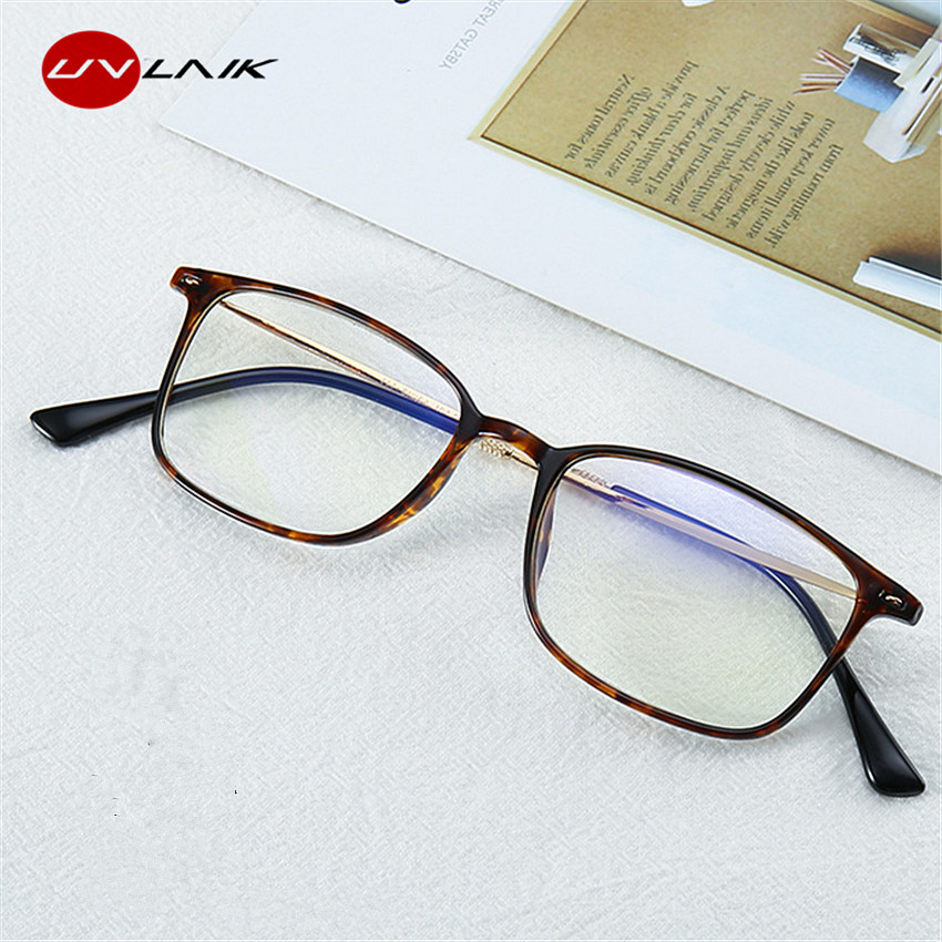 UVLAIK Bifocal Reading Glasses Men Women Oversized Metal Frame Diopter Eyeglasses 1.0 1.5 2.0 2.5 3.0