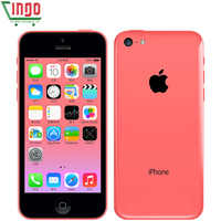 Apple iphone 5c 8 GB 16 GB 32 GB ROM iOS Dual Core 8MP WIFI GPS Multi-idioma 4G LTE utiliza teléfono móvil iphone 5c
