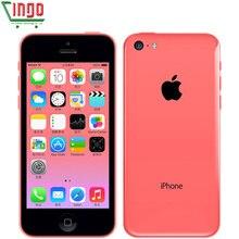 Apple iphone 5c 8 ГБ 16 ГБ 32 ГБ rom iOS двухъядерный 8MP wifi gps многоязычный 4G LTE б/у мобильный телефон iphone 5c