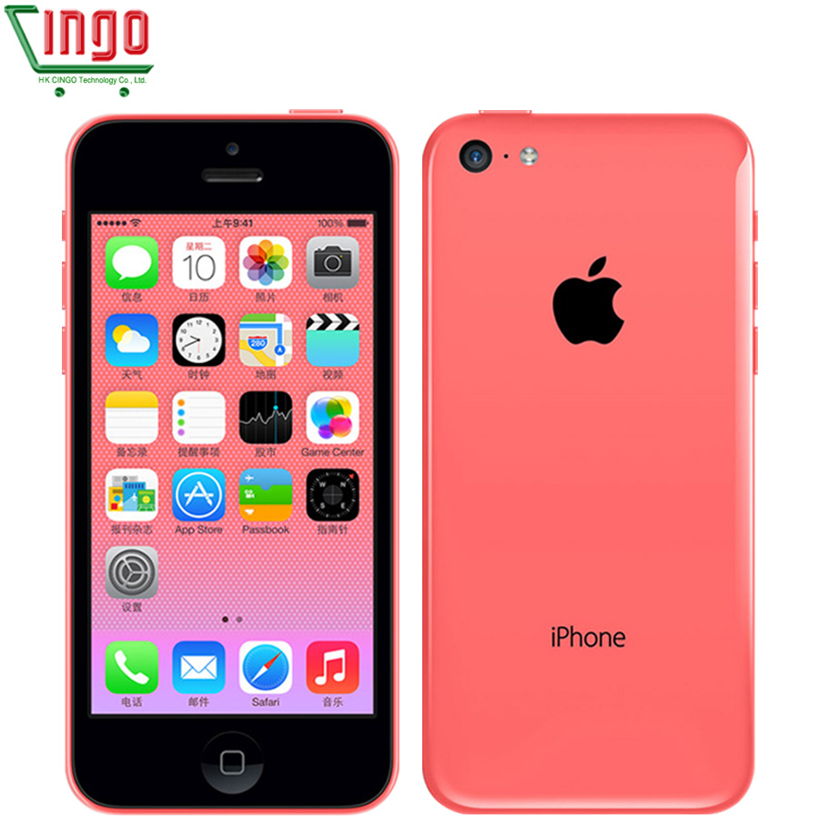 Apple iPhone 5c 8GB 16GB 32GB ROM iOS Dual Core 8MP WIFI GPS Multi-Language 4G LTE Used Cellphone iphone5c