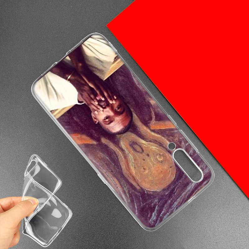 Frank Ocean rubia para Xiaomi rojo mi nota 7S 7S K20 Y3 ir S2 6 6A 7A 5 pro mi jugar A1 A2 8 Lite Poco F1 de silicona teléfono bolsas