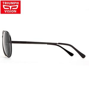 Image 3 - Triumph vision 처방 안경 남성 파일럿 광학 안경 처방 선글라스 근시 oculos homme gafas brillen