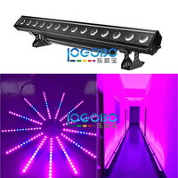 14x30w RGB 3in1 Led Wall Washer Romantic Wedding Uplighting Purple Blue Pink Color Wash Lighting Background Decoration Outdoor