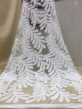 African chiffon Lace Fabric 2019 High Quality Lace Fabric Fashion Embroidered  Free Shipping